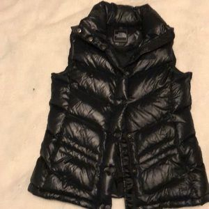 The North Face black puffer vest size M
